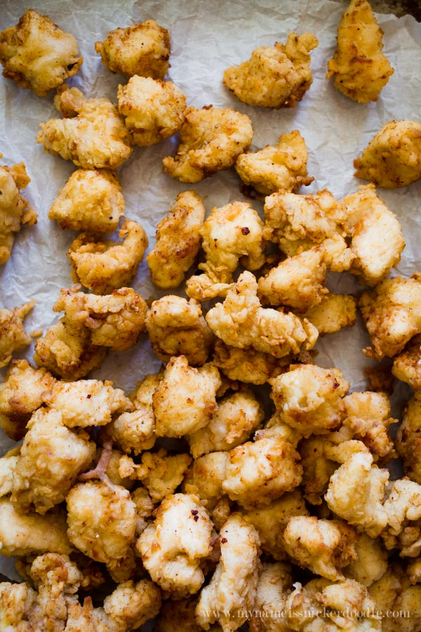 The BEST copycat recipe for Chick-fil-a Chicken nuggets!  So delicious and will put money back in your bank by making them at home!     mynameissnickerdoodle.com