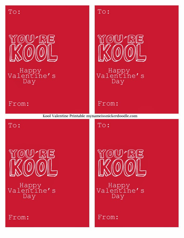 Check Out These Other Cute Valentine Free Printables!