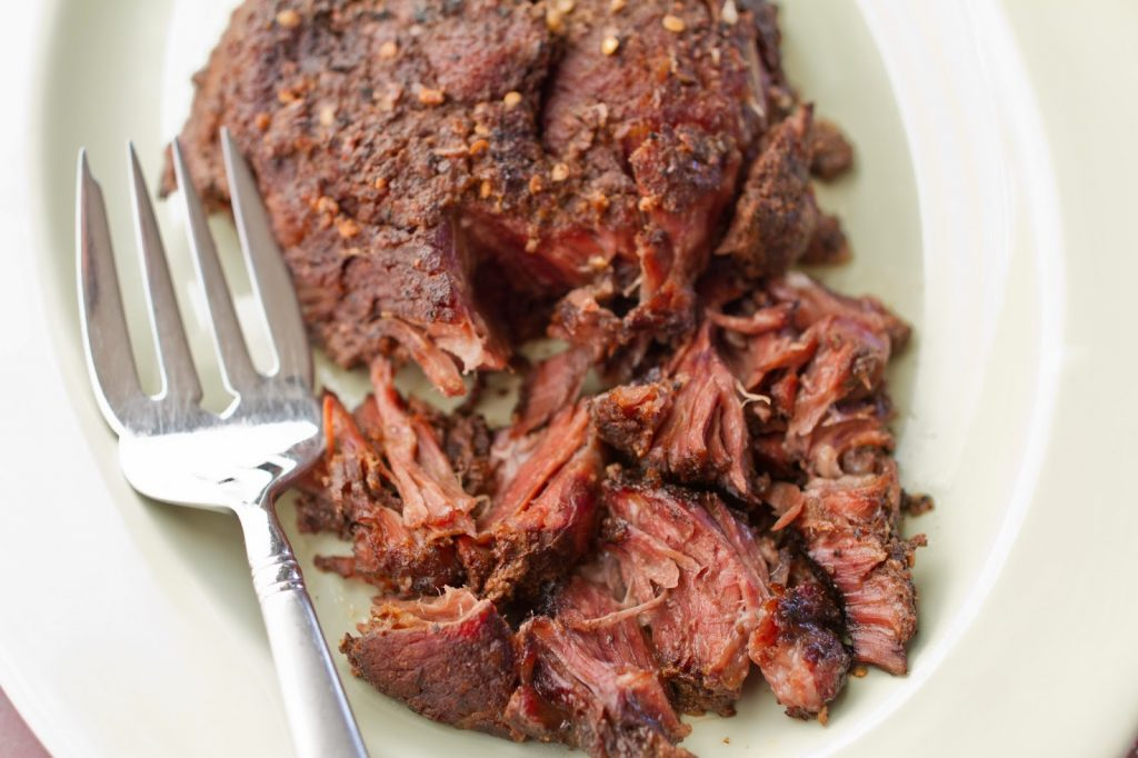 Brisket Style Slow Cooker Roast | mynameissnickerdoodle.com