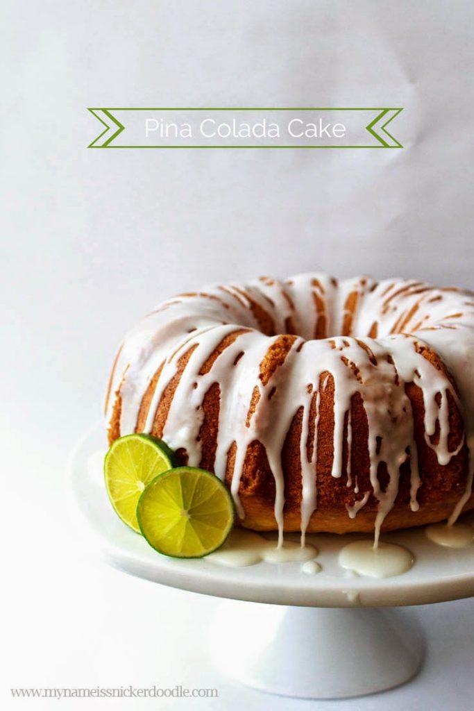 Pina Colada Pound Cake | My Name Is Snickerdoodle