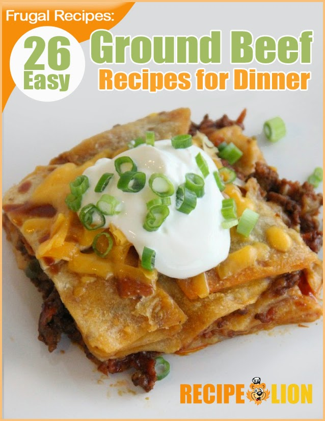 26 Easy Ground Beef Recipes