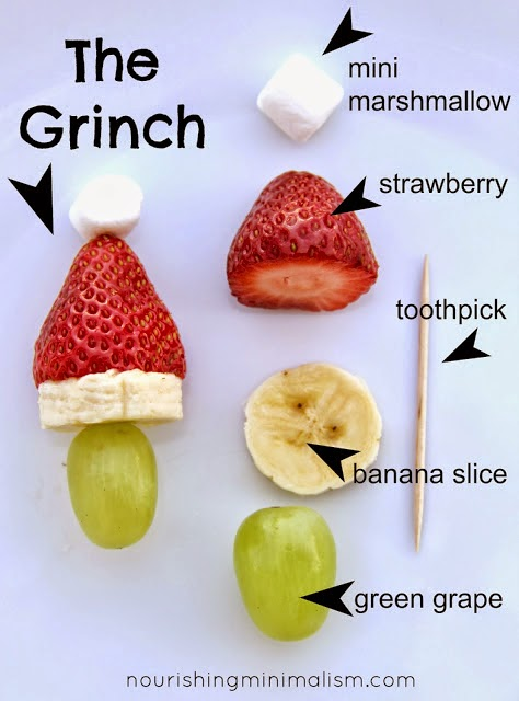 Grinch Christmas Fruit