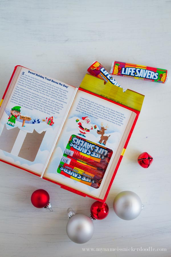 each of these story books have some pretty neat features this year the skittles book of awesome has the coolest skittles beard that you can share with - Christmas Candy Crafts