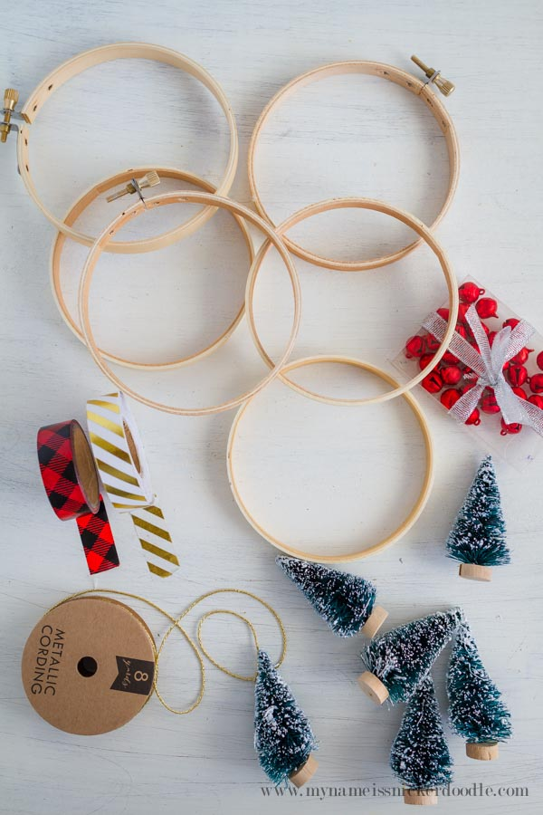 A super inexpensive and ADORABLE Christmas Ornament craft!  |  mynameissnickerdoodle.com