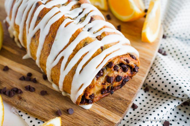 This Chocolate Orange Bread recipe is absolutely delicious!!!  Perfect for brunch or dessert.  |  mynameissnickerdoodle.com
